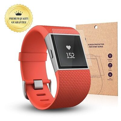 Fitbit Surge Smart Watch Premium Full Cover Tempered Glass Screen Protector