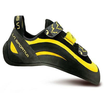 La Sportiva Miura VS Rock Climbing Shoes Men US 7.5 40 NEW in BOX Yellow RARE