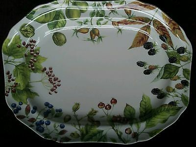 NEW! Spode WOODLAND HARVEST for Williams-Sonoma 16 in. Platter - FREE SHIPPING