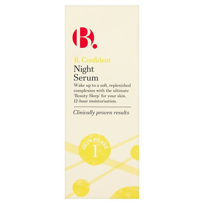 B.Confident Beauty Sleep Soft Replenish 12-hr Moisturiser NIGHT SERUM Age 20-30