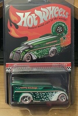 Hot Wheels 2013 Red Line Club RLC Holiday Car - Green Drag Dairy RR #d 2500/4000