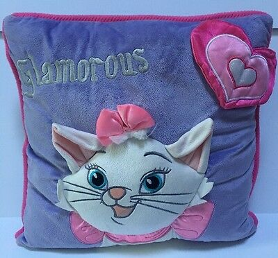 Disney Marie Aristocats Plush Throw Pillow Decorative *Theme Parks Exclusive!*