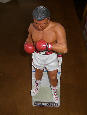 MUHAMMAD ALI DECANTER 1981 McCORMICK WITH BOX