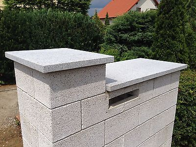 mauerabdeckung naturstein grau granit abdeckplatte mauer pfeilerabdeckung 4cm eur 84 99. Black Bedroom Furniture Sets. Home Design Ideas