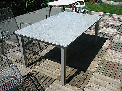 gartentisch outdoor tisch terrassentisch granit naturstein edelstahltisch stein eur. Black Bedroom Furniture Sets. Home Design Ideas