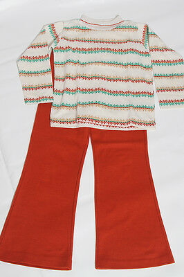 EUC Vintage Health-tex USA Matching Outfit Permanent Press Size 6x