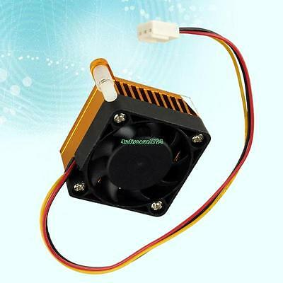 40x40x24mm 3 Pins PC VGA Graphics Video Card Heatsink Cooler Square Cooling Fan