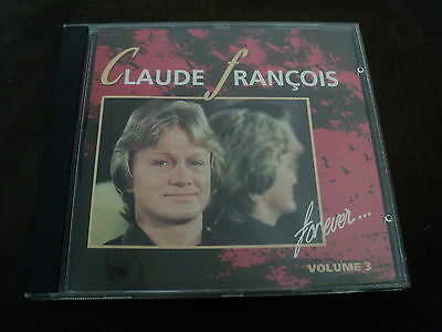 "CD ""CLAUDE FRANCOIS FOR EVER, VOLUME 3"" best of 13 titres"