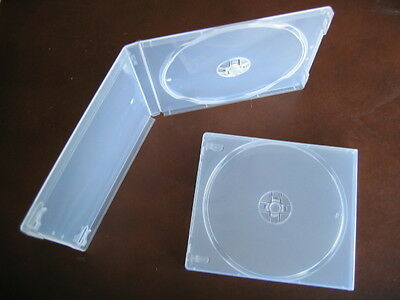 200 Single Cd Dvd Poly Cases Box Super Clear Psc12Sc