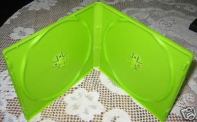 50 Green Double Cd Dvd Poly Cases W/sleeve  Mh4