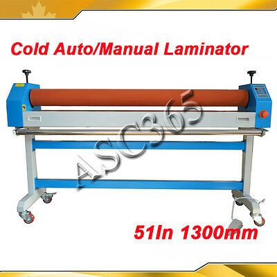 1300MM 51In Electric Large Cold Laminator Automatic Manual  Machine 110V