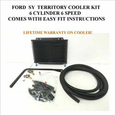 Ford territory SY 6 cyl Automatic Transmission DIY Oil Cooler Bypass Kit 6 speed