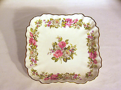 """Beautiful """"Old Foley – Harmony Rose"""" Serving Plate"""