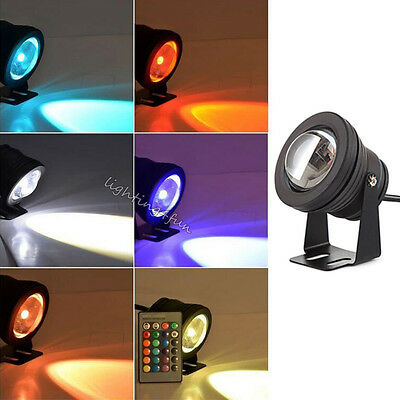 RGB Color Changing Underwater Spot Light for Garden Pool Pond Fish Tank Lighting