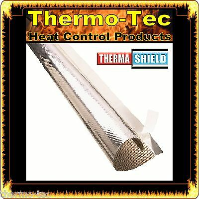 12.7mm x 1m ThermaShield - Wrap Thermal Reflective Protective Heat Shield Sleeve
