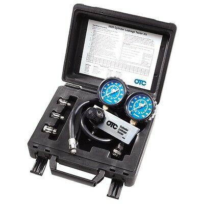 OTC 5609 Cylinder Leakage Tester Kit, Quickly Diagnose Internal Engine Problems