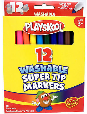Non - Toxic Washable Super Tip Markers