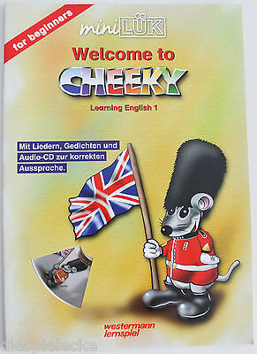 Mini LÜK Welcome to Cheeky Learning English 1 mit CD NEU DIN A4