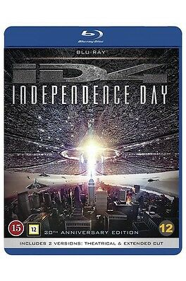 Independence Day 20th Anniversary Edition 2-Disc (Region Free) Blu Ray