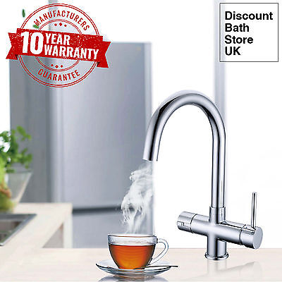Instant Hot / Boiling Water Kitchen Tap 3 in 1 Cold Water Filter & Heating Unit