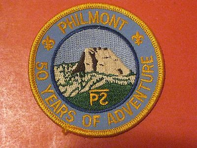 Boy Scout Philmont 50 Years Of Adventure Patch