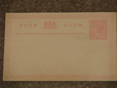 Victoria Postal Card # 4, Unused