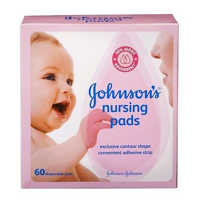 Johnson's Nursing Pads - Contour - 60 ct.