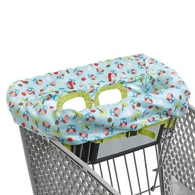 Skip Hop Zoo Shopping Cart and High Chair Cover, Owl