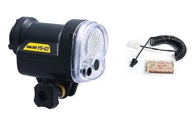 Sea&Sea YS-03 Diving Flash Light Underwater TTL Strobe with Fiber Optic Cable