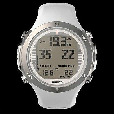 Suunto D6i Novo White Diving Computer Dive Watch Compass with USB Cable - AU