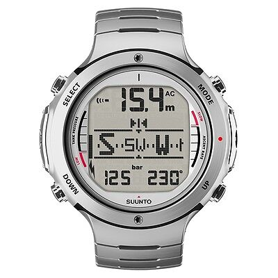 Suunto D6i Steel Dive Computer Diving Watch with Transmitter - NEW