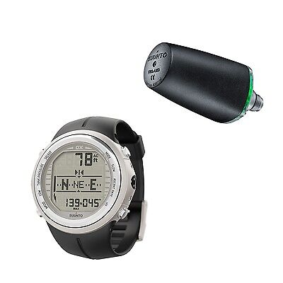 Suunto DX Elastomer Dive Computer Diving Watch with Transmitter - NEW