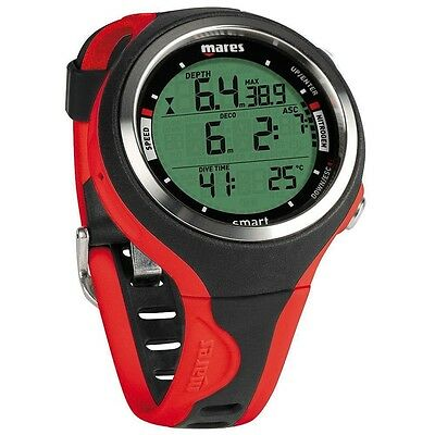 Mares Dive Computer Smart Scuba Diving Watch Red
