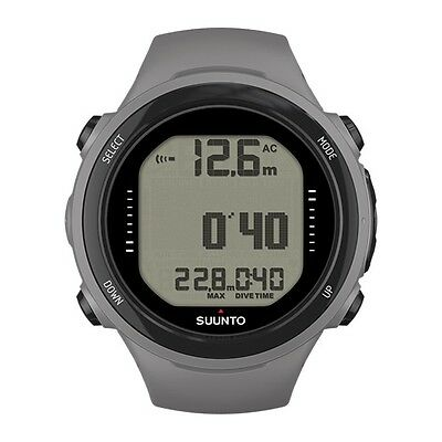 Suunto D4i Novo Diving Computer Dive Watch Scuba Diving with USB Cable Gray