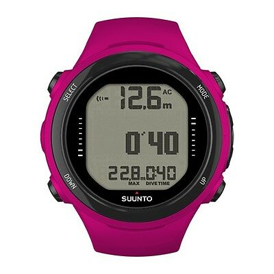 Suunto D4i Novo Diving Computer Dive Watch Scuba Diving with USB Cable Pink