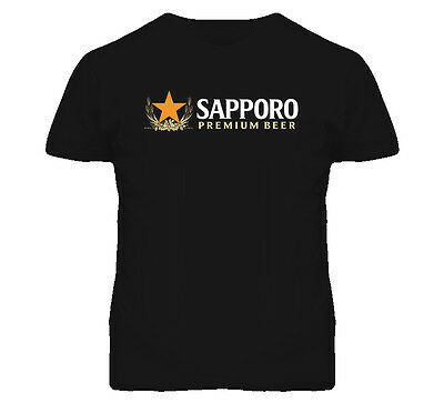 Sapporo Beer Premium Japanese Beer Lager Alcohol Drinking Party Fun T Shirt