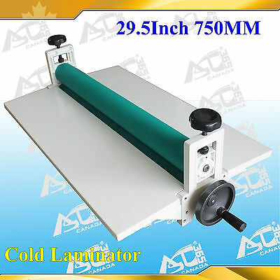 "Manual 29.5"" 750mm Vinyl Mounting Cold Laminating Machine Laminator"
