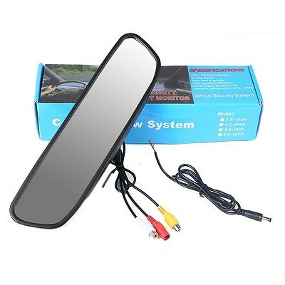 "4.3"" Car Auto Reverse Parking Rearview Mirror Color Digital LCD Display Monitor"