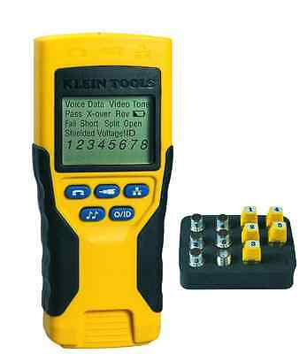 Klein Tools Electrical Voice Video Data Coax Network Cable Tester Kit Hand Tool