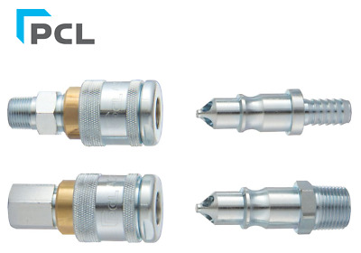 PCL Air Fitting 100 Series High Flow Connector Air Tool Fitting Quick Release