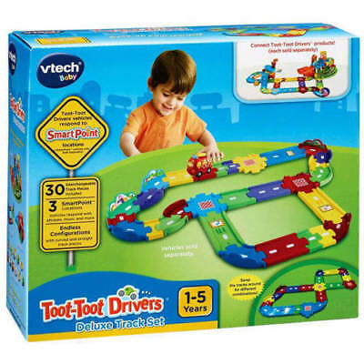 VTech Baby Toot-Toot Drivers Deluxe Track Set 30 Track Pieces