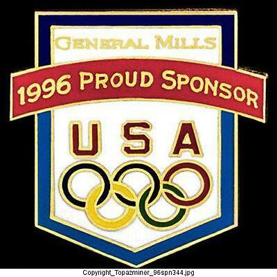 Olympic Memorabilia Atlanta 1996 Helpful Olympic Pins 1996 Atlanta Georgia Usa Usa Canoe Kayak Team Usa Noc Country