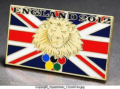 Sports Memorabilia Olympic Memorabilia silver The Best Olympic Pins 2012 London England Uk 3d Guitar Heraldic Lion Logo