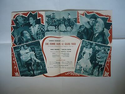 DICK POWELL/MRS.MIKE// 12JL/ french pressbook