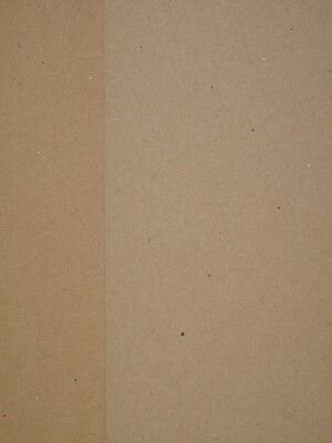 20 x 100% Recycled Brown Kraft Card A4 280gsm for Cardmaking Wedding Crafts