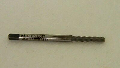 Widia GTD Thread Forming Tap Bottoming 6-32 UNC HSSe 0FL #17222