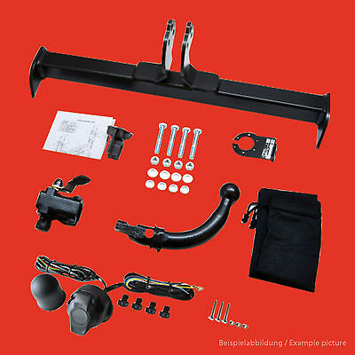 Towbar Detachable + Electric Kit Toyota Yaris Verso 2000 On