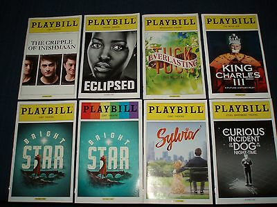 Playbill,Bright Star, Eclipsed,Sylvia,Tuck Everlasting,Cripple Inishmaan,3 More