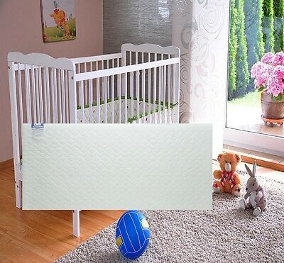 Crib Mattress Baby Swinging Soft Breathable Quilted Water Resistant All Size