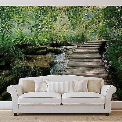 Flowers Forest Nature WALL MURAL PHOTO WALLPAPER (1995DK)